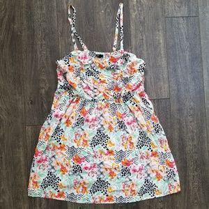 Torrid Print Dress - size 4